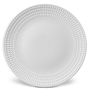 Perlee Round platter, 36cm, white