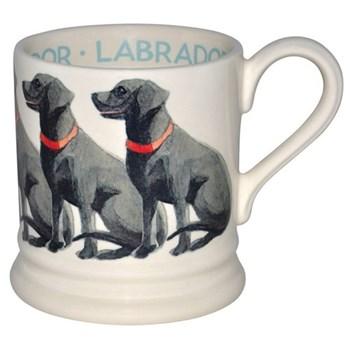 Dogs - Black Labrador Mug, 1/2 pint