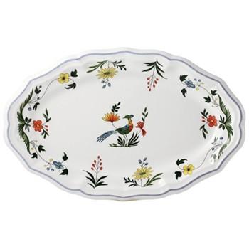 Oiseaux de Paradis Oval platter, 41 x 26.2cm