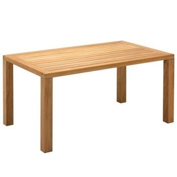 Square Table, 158 x 92cm, teak