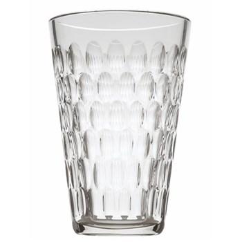 Cleopatre Vase, 25cm, clear