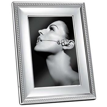 "Perles Photograph frame, 13 x 18cm (5 x 7""), Christofle silver"