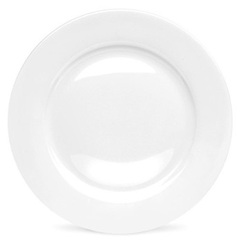 Serendipity Set of 4 dinner plates, 27cm, white