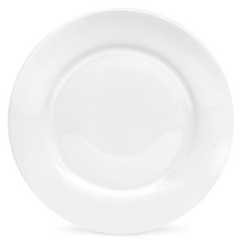 Serendipity Set of 4 side plates, 20cm, white