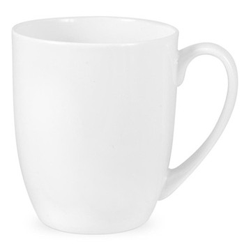 Serendipity Set of 4 mugs, 35cl, white