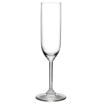 Vinum Pair of Champagne flutes, H22.6 x D4.8cm - 16cl