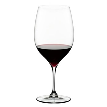 Pair of cabernet/merlot glasses H23.5 x D10cm - 75cl
