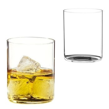Pair of whisky tumblers H10 x D8cm - 43cl