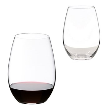 Pair of syrah/shiraz wine tumblers H13.2 x D9.5cm - 62cl