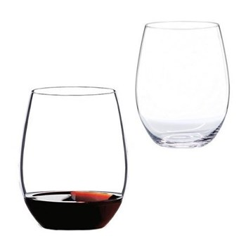 Pair of cabernet/merlot glasses H12.1 x D9.5cm - 60cl