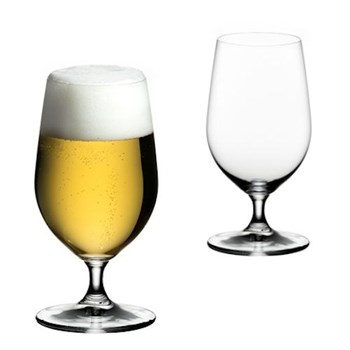 Pair of beer glasses H17 x D8.6cm - 50cl