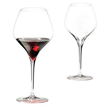 Pair of pinot noir glasses H26 x D11.4cm - 77cl