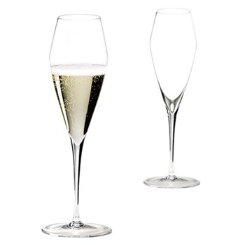 Pair of Champagne glasses H26 x D8.6cm - 32cl