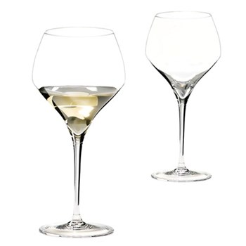 Pair of montrachet glasses H24.4 x D11.4cm - 69cl