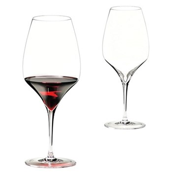 Pair of cabernet glasses H26 x D10.4cm - 82cl