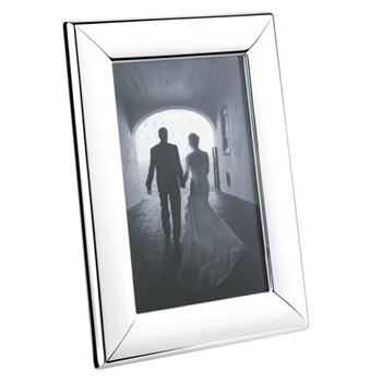 Modern Photograph frame, 10 x 15cm, stainless steel