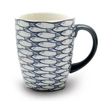 Sardine Run Set of 4 mugs