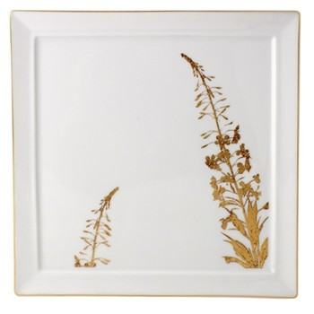 Vegetal Or Square fidji plate, 26cm