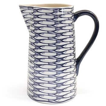 Sardine Run Straight pitcher, 23cm