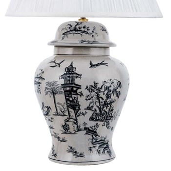 Table lamp - temple jar (base only) H38 x D20cm 350
