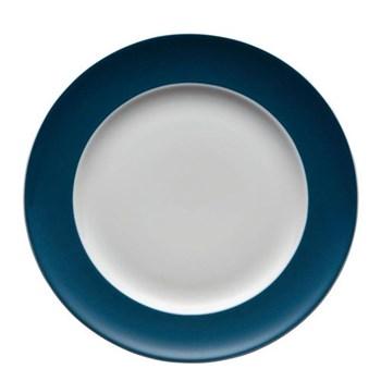 Sunny Day Plate, 22cm, petrol