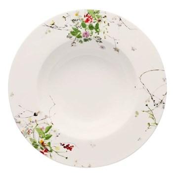 Brilliance - Fleurs Sauvages Deep rim plate, 23cm