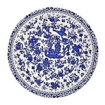 Regal Peacock Dessert plate, 22cm, blue