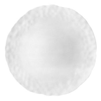 Digital Set of 6 dinner plates, 26cm, white