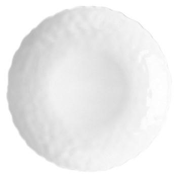 Digital Set of 6 salad/dessert plates, 21cm, white