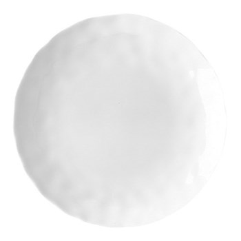 Digital Set of 6 bread and butter plates, 16cm, white