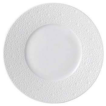 Ecume Set of 6 bread and butter plates, 16cm, white