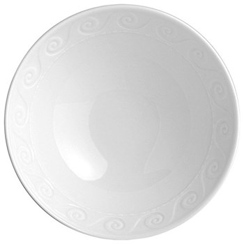 Louvre Set of 6 cereal bowls, 30cl, white