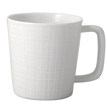 Organza Set of 4 mugs, 24cl, white