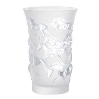 Mustang vase, H17.8 x D11.9cm, clear