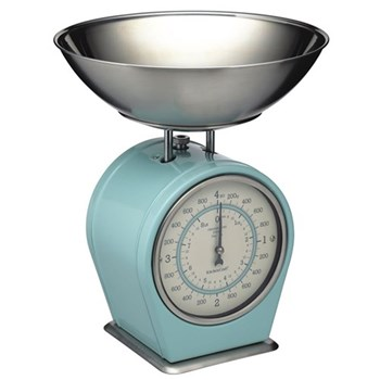 Living Nostalgia Mechanical scales, 4Kg, blue