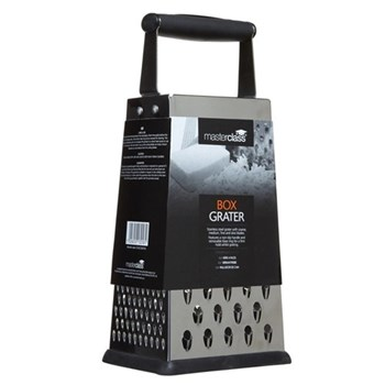 Master Class Professional Four sided box grater, 24.5cm