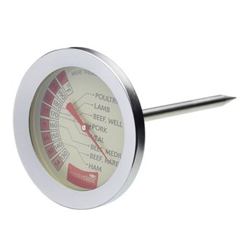Master Class Meat thermometer, 7.5cm, stainless steel