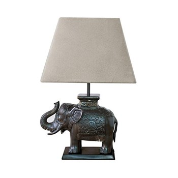 Elephant Table lamp - base only, H29 x D24 x W10cm, bronze
