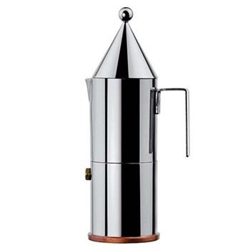 La Conica by Aldo Rossi Espresso coffee maker, 6 cup