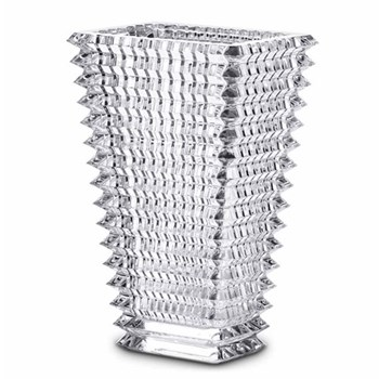 Eye Rectangular vase, 30cm, clear