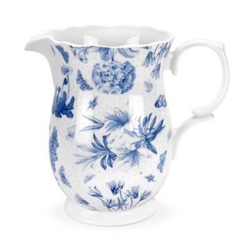 Botanic Blue Jug, 1.5 litre