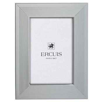 Mille Raies Photograph frame, 10 x 15cm, silver plate