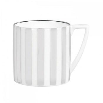 Jasper Conran - Platinum Mini mug, 29cl, striped