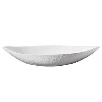 Mineral Blanc Dish, 58 x 25.5cm