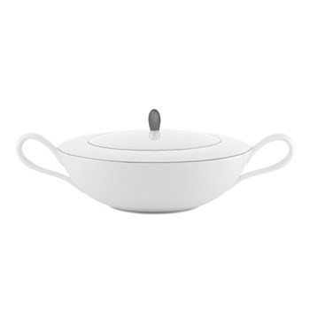 Monceau Couleurs Soup tureen, 2 litre, pearl grey
