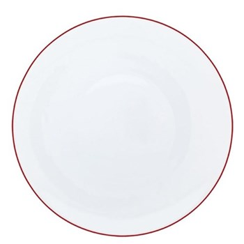 Monceau Couleurs Bread and butter plate, 16cm, vermilion red