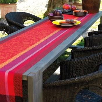 Provence Runner, 55 x 150cm, strawberry