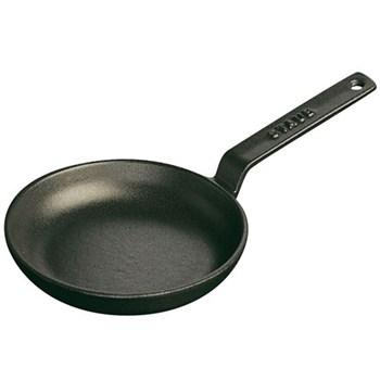 Mini frying pan, 12cm, black