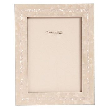"Bianco Photograph frame, 5 x 7"", mother of pearl"