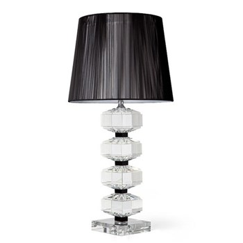 Swift Lamp and black thread shade, 18""